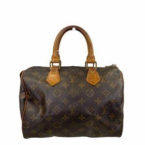 Louis Vuitton Satchel bag Speedy 25 Brown monogram